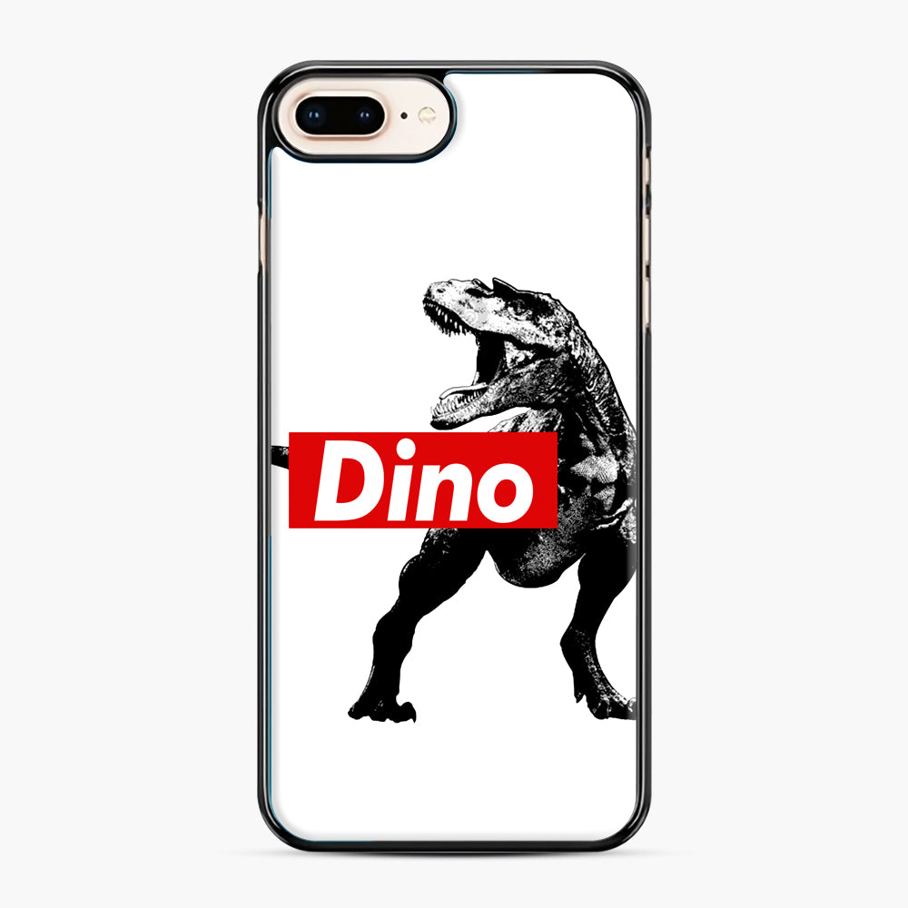 The Supreme of All Dinosaurs iPhone 7,8 Plus Case, Black Plastic Case | Webluence.com