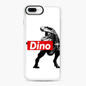 The Supreme of All Dinosaurs iPhone 7,8 Plus Case, White Rubber Case | Webluence.com