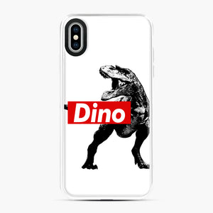 The Supreme of All Dinosaurs iPhone XS Max Case, White Plastic Case | Webluence.com