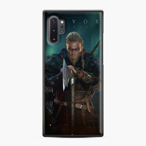 The Viking Eivor Assassin'S Creed Valhalla Samsung Galaxy Note 10 Plus Case, Black Plastic Case