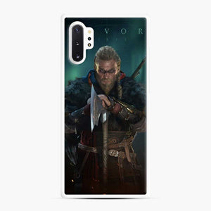 The Viking Eivor Assassin'S Creed Valhalla Samsung Galaxy Note 10 Plus Case, White Rubber Case