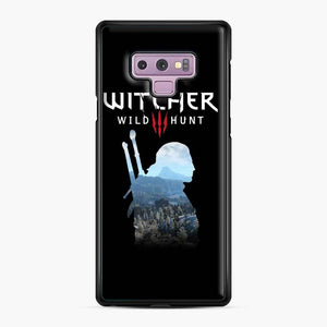 The Witcher 3 Wild Hunt 2 Samsung Galaxy Note 9 Case, Black Plastic Case