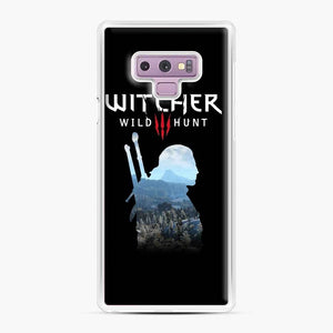 The Witcher 3 Wild Hunt 2 Samsung Galaxy Note 9 Case, White Plastic Case