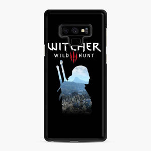 The Witcher 3 Wild Hunt 2 Samsung Galaxy Note 9 Case, Black Rubber Case