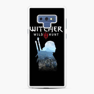 The Witcher 3 Wild Hunt 2 Samsung Galaxy Note 9 Case, White Rubber Case