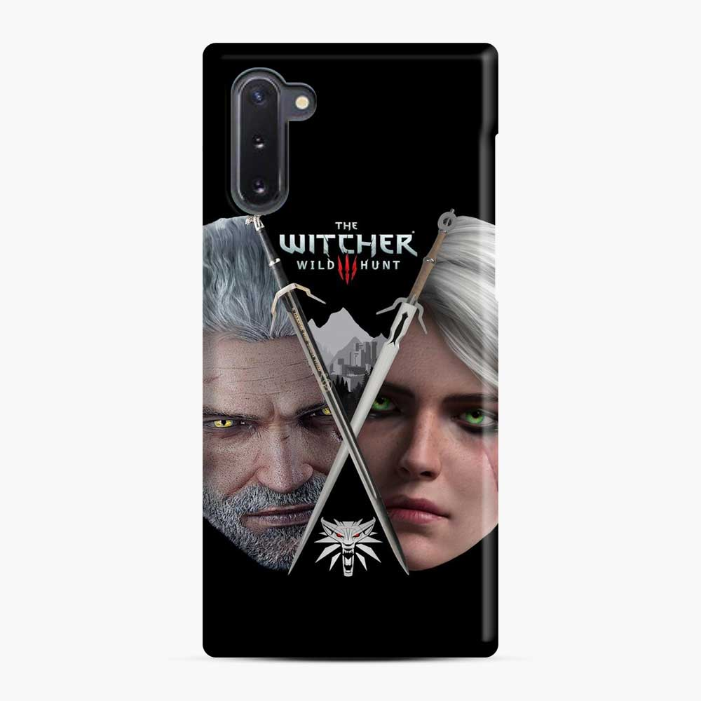 The Witcher 3 Wild Hunt Ciri And Geralt Samsung Galaxy Note 10 Case, Snap Case