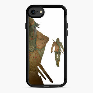 The Witcher iPhone 7 / 8 Case, Black Rubber Case