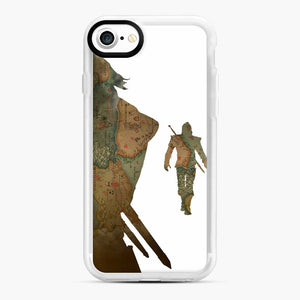 The Witcher iPhone 7 / 8 Case, White Rubber Case