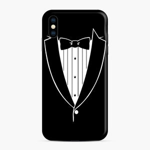 Tie Tuxedo Wedding Prom Groom Funny Tux iPhone XS Max Case, Snap Case | Webluence.com