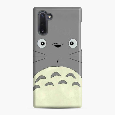 Totoro Cute Face Samsung Galaxy Note 10 Case, Snap Case