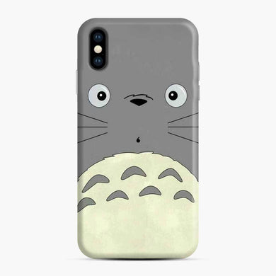 Totoro Cute Face iPhone XS Max Case, Snap Case