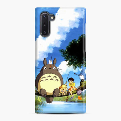 Totoro Fishing Satsuki and Mei Samsung Galaxy Note 10 Case, Snap Case