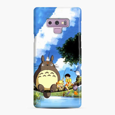 Totoro Fishing Satsuki and Mei Samsung Galaxy Note 9 Case, Snap Case
