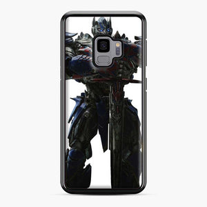 Transformers 20 Samsung Galaxy S9 Case, Black Plastic Case