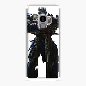 Transformers 20 Samsung Galaxy S9 Case, White Plastic Case