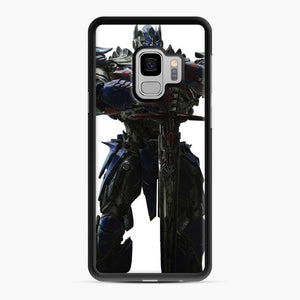 Transformers 20 Samsung Galaxy S9 Case, Black Rubber Case