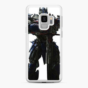 Transformers 20 Samsung Galaxy S9 Case, White Rubber Case