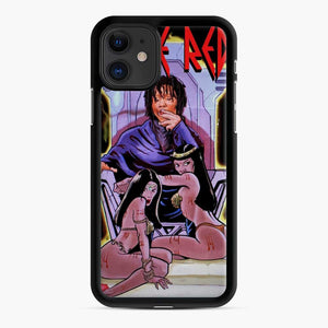 Trippie Red Album Tour 2020 Redd iPhone 11 Case, Black Rubber Case