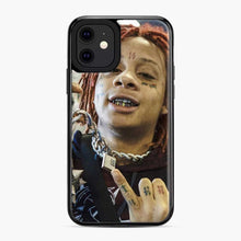 Load image into Gallery viewer, Trippie Redd 13 iPhone 11 Case, Black Plastic Case