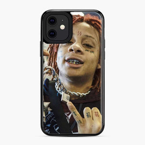 Trippie Redd 13 iPhone 11 Case, Black Plastic Case