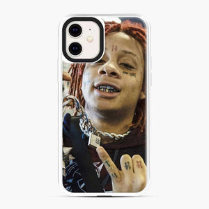 Trippie Redd 13 iPhone 11 Case, White Plastic Case