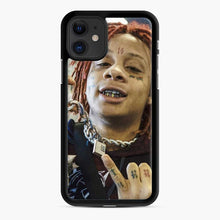 Load image into Gallery viewer, Trippie Redd 13 iPhone 11 Case, Black Rubber Case