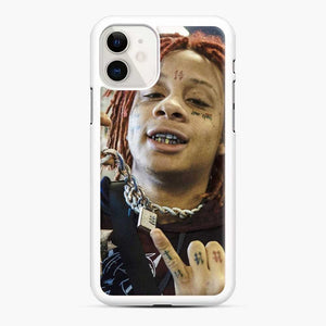 Trippie Redd 13 iPhone 11 Case, White Rubber Case