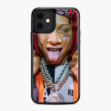 Load image into Gallery viewer, Tripple Redd Wow Tour 2020 iPhone 11 Case, Black Plastic Case