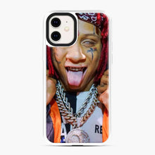 Load image into Gallery viewer, Tripple Redd Wow Tour 2020 iPhone 11 Case, White Plastic Case