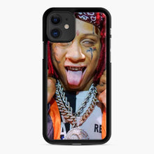 Load image into Gallery viewer, Tripple Redd Wow Tour 2020 iPhone 11 Case, Black Rubber Case