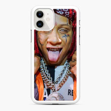 Load image into Gallery viewer, Tripple Redd Wow Tour 2020 iPhone 11 Case, White Rubber Case