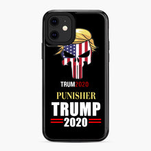 Load image into Gallery viewer, Trump 2020 Punisher Tito Ortiz Donald Trump iPhone 11 Case, Black Plastic Case | Webluence.com