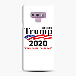 Trump Keep America Great 2020 Samsung Galaxy Note 9 Case, Snap Case | Webluence.com