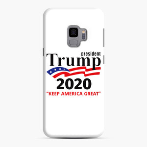 Trump Keep America Great 2020 Samsung Galaxy S9 Case, Snap Case | Webluence.com