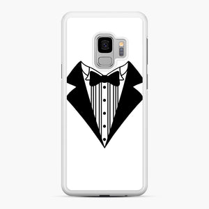 Tux Kids Samsung Galaxy S9 Case, White Rubber Case | Webluence.com