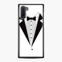 Load image into Gallery viewer, Tux Red Samsung Galaxy Note 10 Case, Black Plastic Case | Webluence.com