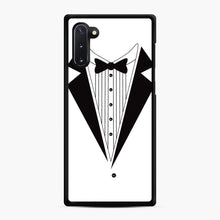 Load image into Gallery viewer, Tux Red Samsung Galaxy Note 10 Case, Black Rubber Case | Webluence.com