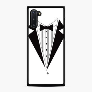 Tux Red Samsung Galaxy Note 10 Case, Black Rubber Case | Webluence.com