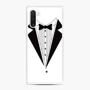 Tux Red Samsung Galaxy Note 10 Case, White Rubber Case | Webluence.com