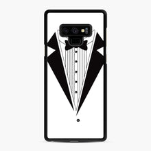 Load image into Gallery viewer, Tux Red Samsung Galaxy Note 9 Case, Black Rubber Case | Webluence.com