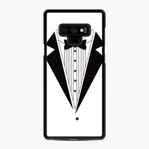 Tux Red Samsung Galaxy Note 9 Case, Black Rubber Case | Webluence.com