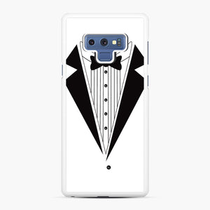 Tux Red Samsung Galaxy Note 9 Case, White Rubber Case | Webluence.com