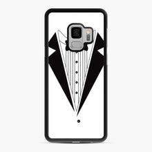 Load image into Gallery viewer, Tux Red Samsung Galaxy S9 Case, Black Rubber Case | Webluence.com