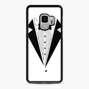 Tux Red Samsung Galaxy S9 Case, Black Rubber Case | Webluence.com