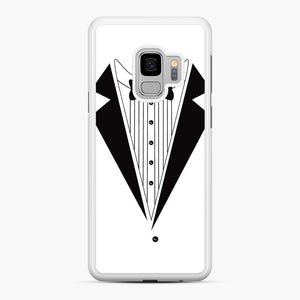 Tux Red Samsung Galaxy S9 Case, White Rubber Case | Webluence.com