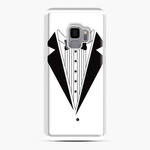Tux Red Samsung Galaxy S9 Case, White Plastic Case | Webluence.com