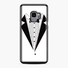 Load image into Gallery viewer, Tux Red Samsung Galaxy S9 Case, Black Plastic Case | Webluence.com