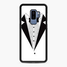 Load image into Gallery viewer, Tux Red Samsung Galaxy S9 Plus Case, Black Rubber Case | Webluence.com
