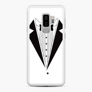 Tux Red Samsung Galaxy S9 Plus Case, White Rubber Case | Webluence.com