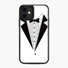 Load image into Gallery viewer, Tux Red iPhone 11 Case, Black Plastic Case | Webluence.com